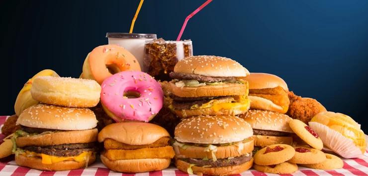unhealthy foods